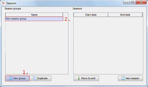 MMK - Adding Seasons to Booking Manager